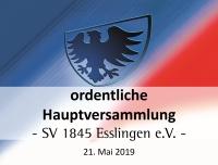 UPDATE: Einladung zur ordentlichen Mitgliederversammlung am 21. Mai 2019