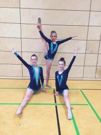 Unsere Teilnehmerinnen Ena Kovacevic, Anna-Sophia Hertel und Katharina Betz