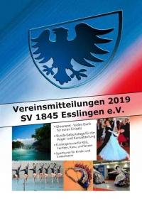 Deckblatt der Vereinsmitteilungen