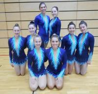 Unsere Teilnehmerinnen am Mixed Wettkampf