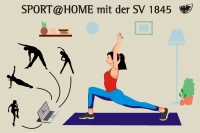 Kurse wieder im Corona-Modus - also digital Sport@Home