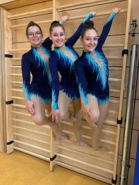 Unsere erfolgreiche Frauenmannschaft Julia, Nicola und Lucie