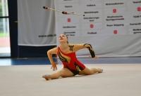 Anna-Lena Schubert während ihrer Keulenkür